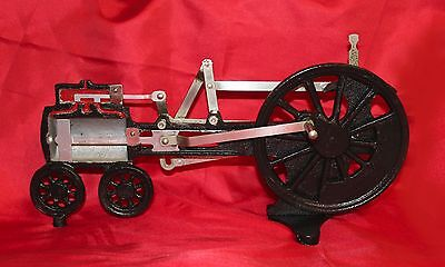 ANTIQUE STEAM ENGINE - Cut-Away For Demonstration - WORKS GREAT!!! LQQK!!!