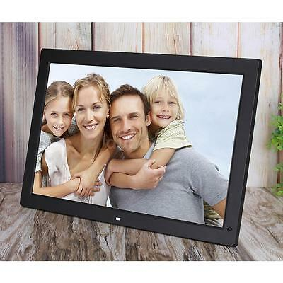 "18.5"" Wide Screen LED Digital Photo Frame Picture Album w/ Remote Control Black"