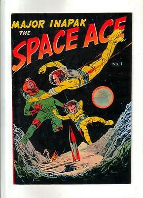 Major Inapak the Space Ace #1 Powell art; 1951 VF+