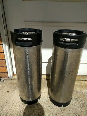 19L Cornelius Kegs x 2 for Home Brewing