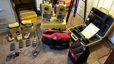 2 Topcon APL1A Robotic Stations with Extras