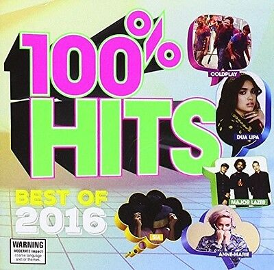 Various Artists - 100% Hits Best Of 2016 / Various [New CD] Australia - Import