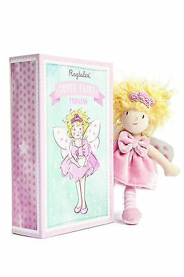 New Ragtales Tooth Fairy Princess Doll Soft Toy in Storage Gift Box 0m+