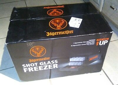 Jagermeister Shot Glass Freezer NEW Never Used In Box