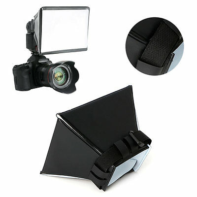 Pro Foldable Soft Box Flash Diffuser Dome For Canon Nikon Sony Pentax Universal