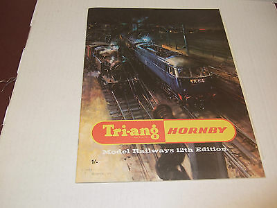 Tri-Ang Hornby 12Th Edition Catalogue 1966 New