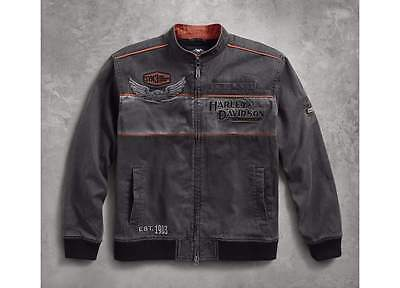 Harley Davidson Mens Ironblock Casual Jacket