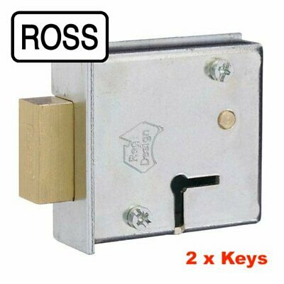 ROSS 6 Lever Safe Lock 102-2 Keys -08952010-Free Post In Australia