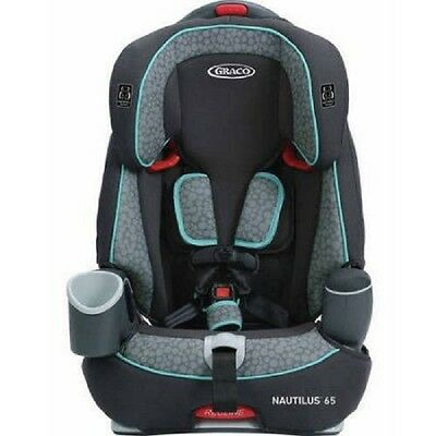 NEW Graco Nautilus 65 3-in-1 Harness Convertible TODDLER BOOSTER CAR SEAT, Sully