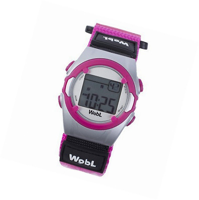 WobL Watch  Children's 8-Alarm Vibrating Reminder Watch Potty Training Tool Pink