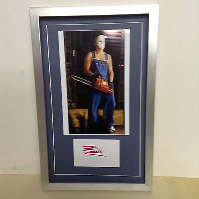 Eminem Hand Signed/Autographed Card with a Photo & COA