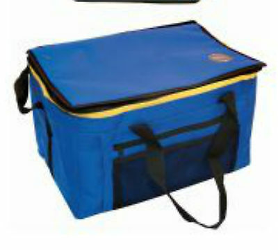 Insulated Collapsible Cooler Cool Bag- 48 Can -For Picnic/shopping/camping -Blue