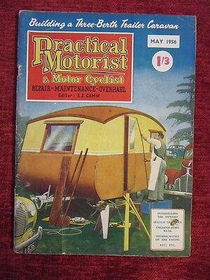 1956 Practical Motorist & Motor Cyclist May Collectable Vintage FC65