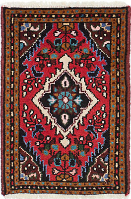 """Hand-knotted Persian Carpet 1'4"""" x 2'0"""" Persian Wool Rug...DISCOUNTED!"""