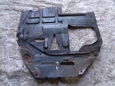 Audi TT 8N 98-06 MK1 3.2 V6 DSG AUTO Quattro metal engine /gearbox undertray 2