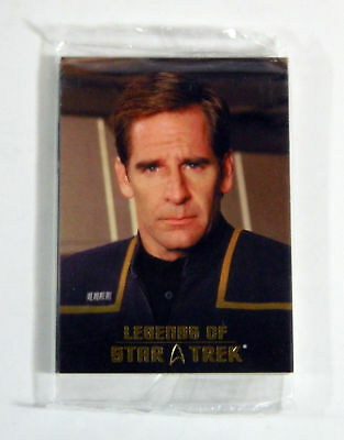 2009 Legends of Star Trek 18 Captain Jonathan Archer Sealed Set (L1-L9) /1701