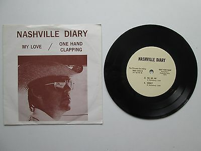 PAUL McCARTNEY - NASHVILLE DIARY RARE EP 1975 - WITH PICTURE SLEEVE ex conditio