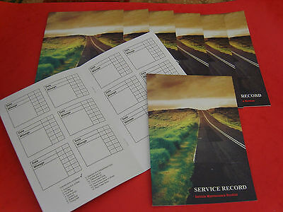 Blank Universal Unstamped Service History Book Any Cars Van Kit Classic Make