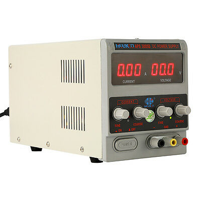 Digital DC regulated Power Supply capability of laboratory + 3A power transforme
