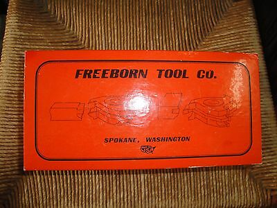 "Freeborn Tool Co. Mini-Pro Shaper Cutters Cope And Pattern M-50-010 3/4"" Bore"