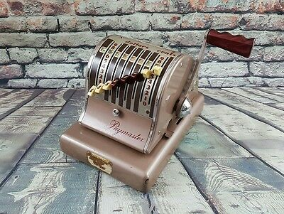 Vintag 1950's Paymaster Check Writer S-600 Series