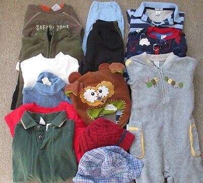 Cute lot of Boys size 18 months clothing