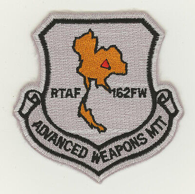 USAF Thailand air force patch 162 Fighter Wing Advanced Weapons MTT F16C Korat