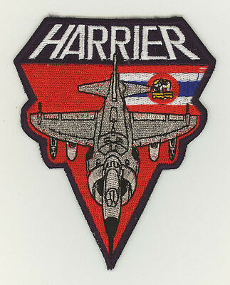 Thailand air force patch 301 squadron AV8S Harrier U-Tapao