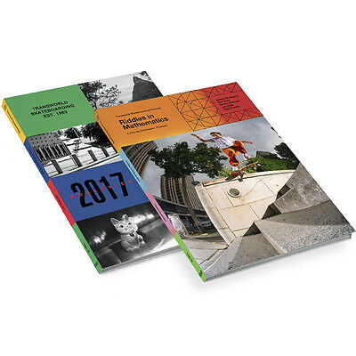 """New TRANSWORLD """"Riddles In Mathematics / Worldview""""  Skateboard DVDs (Set of 2)"""