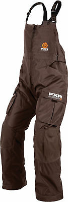 FXR Mens Brown Snowmobile Mens Hardwear Pants Snocross
