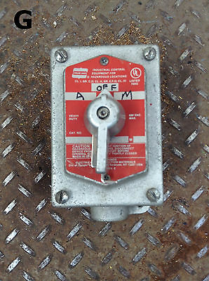 Crouse-Hinds EFSC21273S349 Explosion Proof Selector Switch Control Station