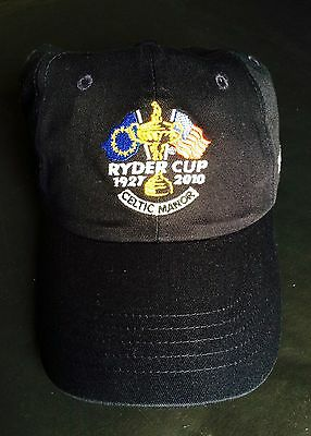 Ryder Cup 2010 Celtic Manor Cap, New, Celtic Manor 2010 Ryder Cup Hat