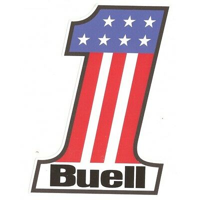 BUELL Number One Sticker