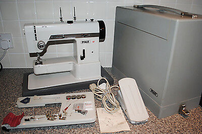 PFAFF 97 Heavy Duty Metal Body Sewing Machine (Faulty - Spares / Repairs)