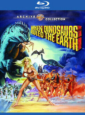 When Dinosaurs Ruled The Earth (1970) (2017, REGION A Blu-ray New)
