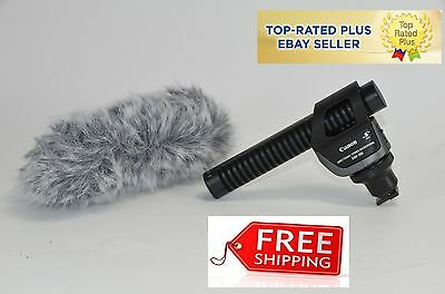 Canon DM-100 Directional Stereo Professional Microphone For Canon Vixia Models