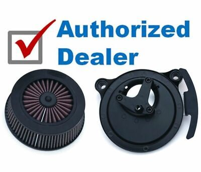 Kuryakyn Crusher Street Sleeper III High Flow Air Cleaner Intake Filter Harley
