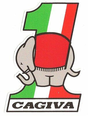 CAGIVA Number One Sticker