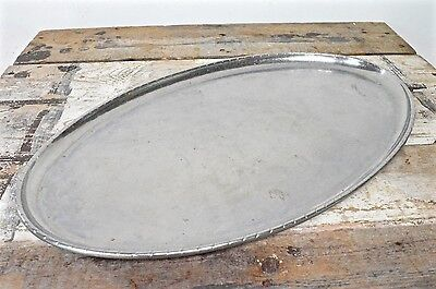 KSIA Keswick School Industrial Art Hammered Firth Staybrite Large Oval Tray 49cm