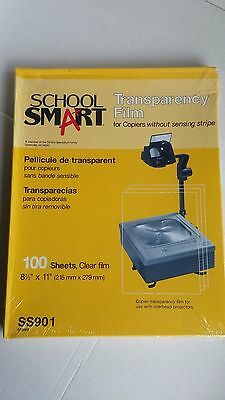 New School Smart Copier Transparency Film Without Sensing Stripe 100 Sheets