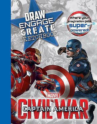 Marvel Captain America Civil War Draw Engage Cre, , New