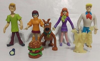Scooby-Doo Mystery Inc. Action Figures (1999) Bendable Equity Marketing 5+