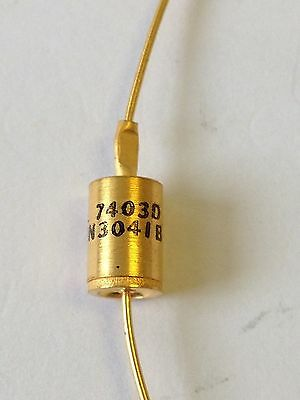 ONE - Siemens 1N3041B Power Zener Diode with gold leads - NOS