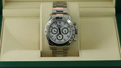Daytona Rolex White Dial Mint Condition Original Factory 116520