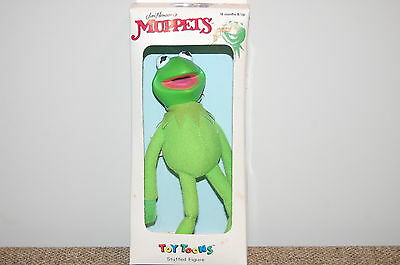 """Vintage 1991 Toy Toons 8"""" KERMIT The FROG W/Rubber Head~ MIB"""