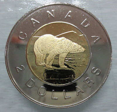 1998W Canada Toonie Proof-Like Two Dollar Coin