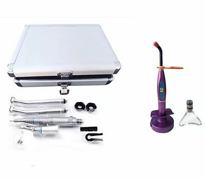 NSKi Style Wrench Type Dental Handpiece Kit 4H with Box + 5W LED Curing Light