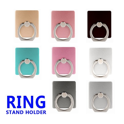 Universal 360 Rotating Finger Ring Stand Holder For Mobile Cell phone