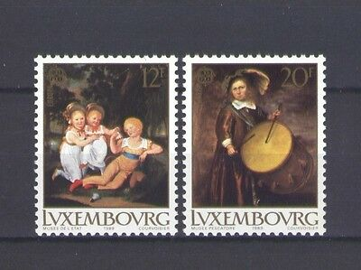 Luxembourg, Europa Cept 1989, Children's Games, Mnh