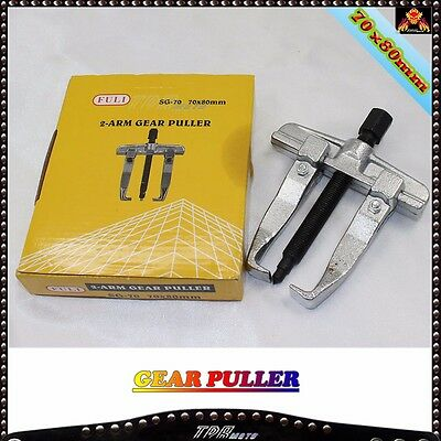 Gear Puller Two Jaw 2 Arm Gear Puller 70mm x 80mm Bearing Disassemble Tool NEW